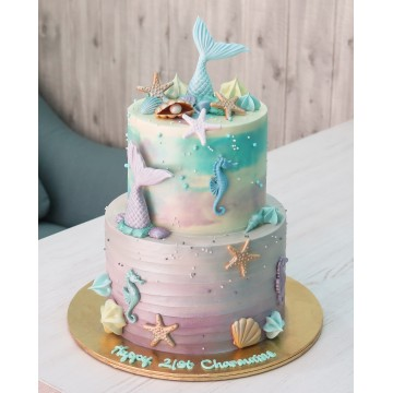 Mermaid Dream Cake