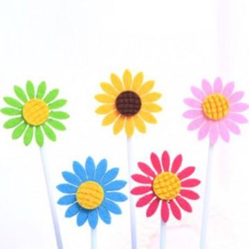 Sunflower Cupcake Topper Set
