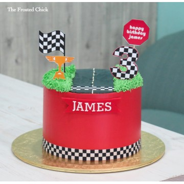 Racing Car Cake Base