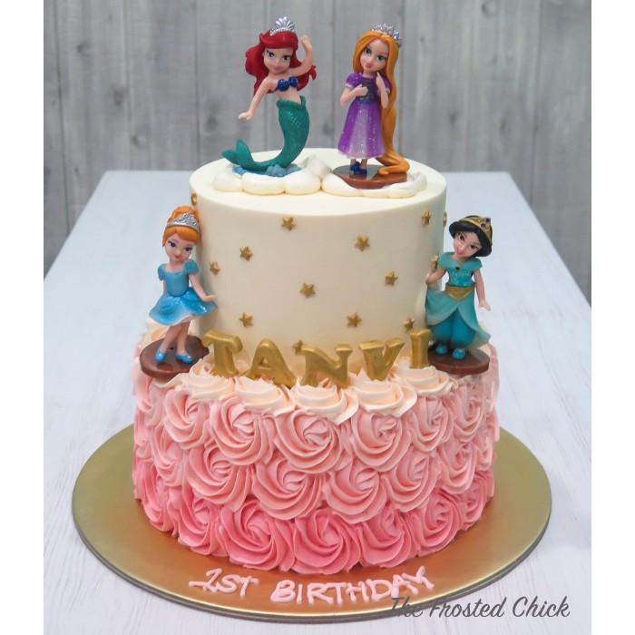 Princesses, unicorn and mermaid themed