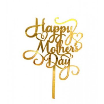 Happy Mother's Day Acrylic Topper