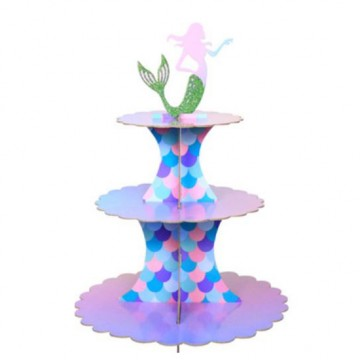 Mermaid Cupcake stand