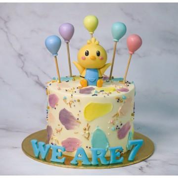 Birthday Chick Cake