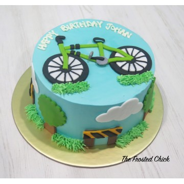Bicycle/Cyclist Cake
