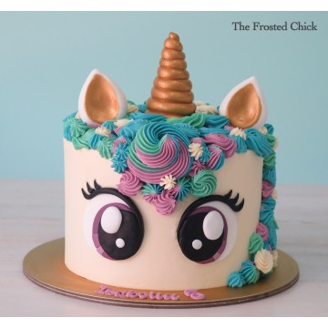 Unicorn Cake (big eyes)