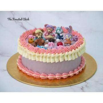 Stella Lou & Duffy Inspired Cake