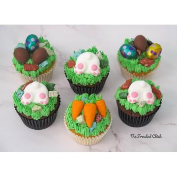 Easter Cupcakes (Per half Dozen)