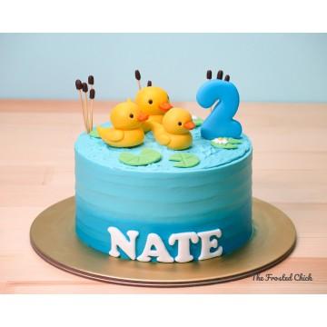 Family of Ducks Cake