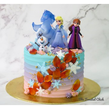Autumn Dreams with Frozen 2 toppers