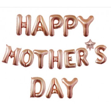 HAPPY MOTHER'S DAY letter foil balloons