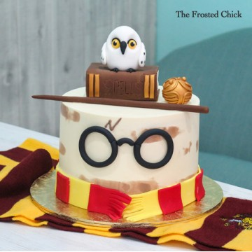 Wizard Themed Cake