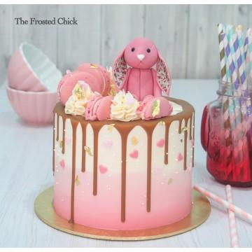 Jelly Cat Bunny Drip Cake