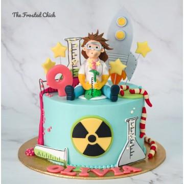 Aspiring Scientist Cake