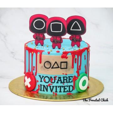 Squid Game Cake