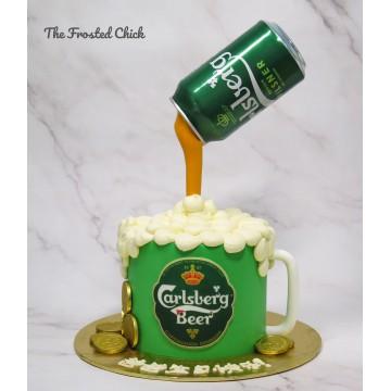 Carlsberg Mug Cake