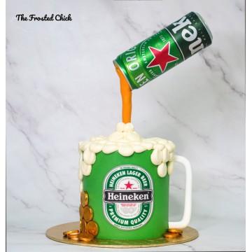 Heineken Mug Cake