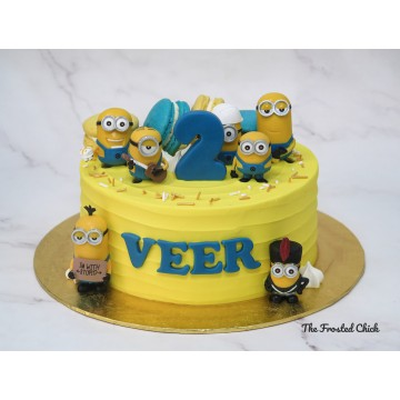 Minions Inspired Cake