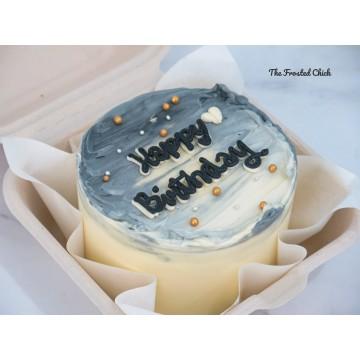 Monochrome (Bento Cake)