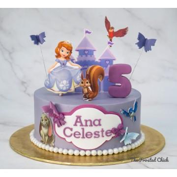 Princess Sofia Inspired Cake