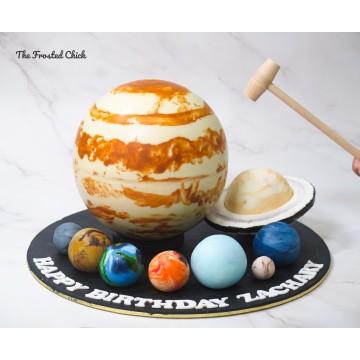 Solar System Planet Piñata