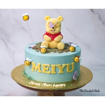 Pooh Inspired Cake