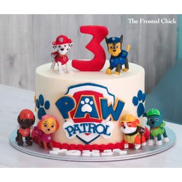 Paw Patrol Inspired Cake