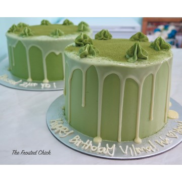 Matcha White Chocolate Cake
