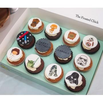Printed Icing Cupcake