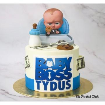 Baby Boss Inspired Cake