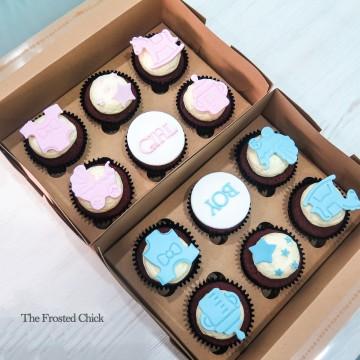 Baby Shower Cupcake (Per half Dozen)