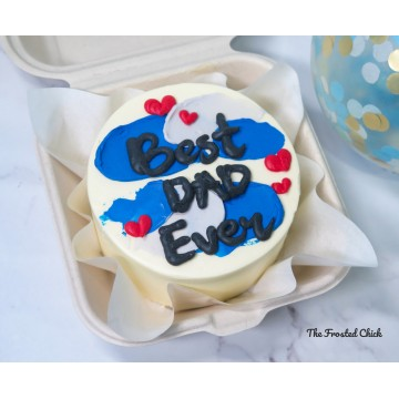 Best Dad Ever (Bento Cake)