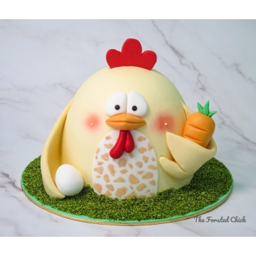 3D Chicken Cake