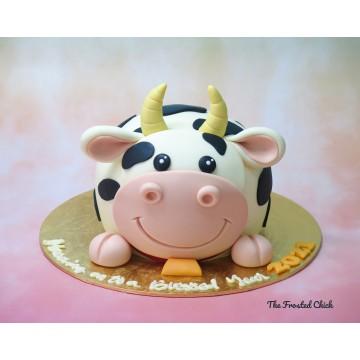 3D Cow Cake