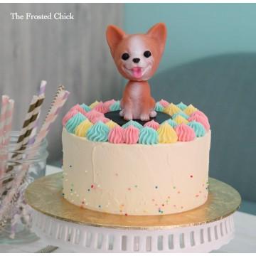 Pastel Dog Cake