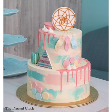 Pastel Dream Catcher Cake
