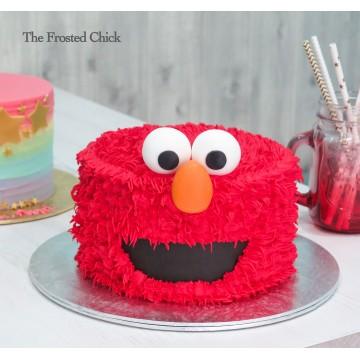 Red Monster Cake
