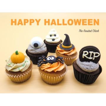 Halloween Cupcakes (Per half Dozen)
