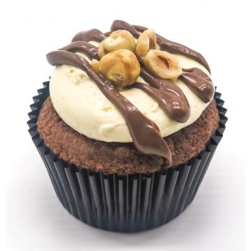 Hazelnut Praline Cupcake