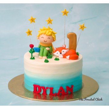 The Little Prince Inspired Cake