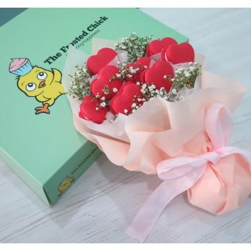 Macaron Heart Bouquet