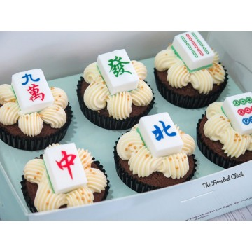 Mahjong Cupcakes