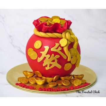 Money Bag 發 Cake (Money pulling option available)