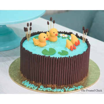 Little Ducklings Cake