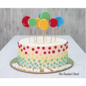 Balloon Celebration Cake