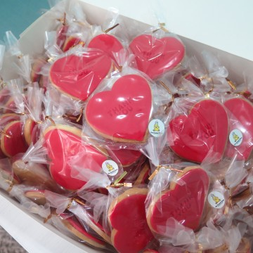 Cookie Door Gifts (Heart)