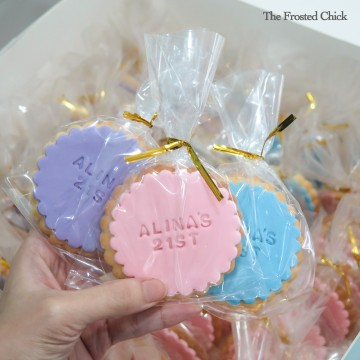 Cookie Door Gifts (Round)