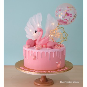 Magical Swan Cake