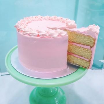 Vanilla Lychee Cake
