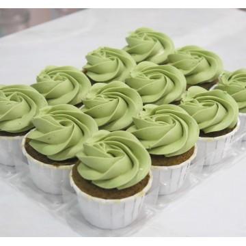 Matcha Mini Cupcake (Per Dozen)