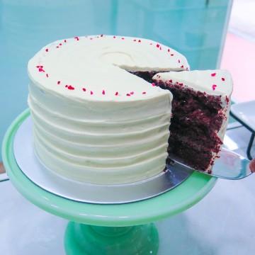 Nutella Velvet Cake
